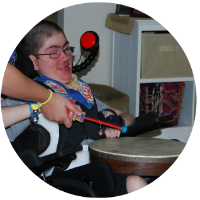 In-home, in-school, and community based music therapy services